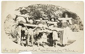 view Pollock family eating watermelon in Arizona digital asset number 1