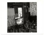 view Jackson Pollock at the door of his studio digital asset number 1
