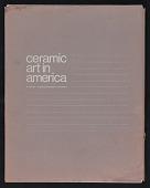 view Portfolio, Ceramic Art in America, edited by Richard B. Peterson digital asset: Portfolio, Ceramic Art in America, edited by Richard B. Peterson