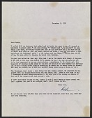 view Red Grooms letter to Anne Poor digital asset: page