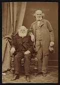 view Hiram Powers and William Cullen Bryant digital asset number 1