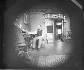 view Man sitting at a desk digital asset number 1