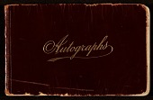 view James D. Preston autograph book digital asset: cover
