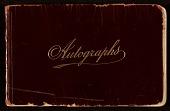 view James D. Preston autograph book digital asset: cover