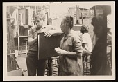 view Agnes Hart assisting students at the Art Students League, New York, N.Y. digital asset number 1