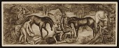 view Study for Post office mural by Josef Presser, in Southern Pines, N.C. digital asset number 1