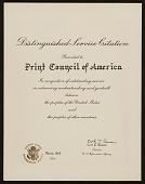 view Distinguished Service Citation digital asset number 1