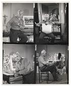 view Adolf Dehn working in his studio digital asset number 1