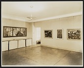 view Installation view of a German Expressionist exhibition at the Curt Valentin Gallery digital asset number 1