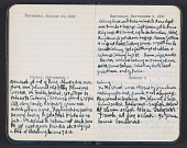 view Abraham Rattner diary digital asset: pages 4