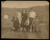 view Henry Poor, Marion Dorn, Morris Crawford's son, Winold Reiss, unknown woman, and Ruth Reeves digital asset number 1