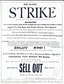 view Satirical sketch for an artist strike digital asset number 1