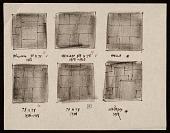 view Diagram of six Reinhardt paintings digital asset number 1