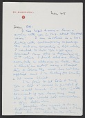 view George Rickey letter to Ad Reinhardt digital asset number 1