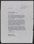 view Marshall Reisman, Cazenovia, N.Y. letter to George K. Nakashima, New Hope, Pa. digital asset number 1