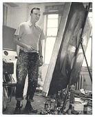 view [Photographs of artists taken by Kay Bell Reynal], 1952 digital asset number 1