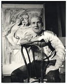 view Willem de Kooning with his work digital asset number 1
