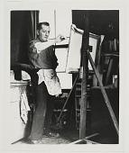 view William Baziotes in his studio, 1952 digital asset number 1