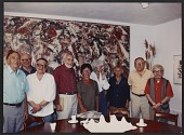 view Group of artists at the Pollock-Krasner house digital asset number 1