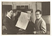 view Photograph of Enrique Riverón and Anibal del Mar in character as Chan Li Pó digital asset number 1