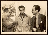 view Photograph of Enrique Riveron with Mario Moreno and Antonio Arias Bernál digital asset number 1