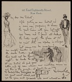 view F. Luis (Francis Luis) Mora, New York, N.Y. letter to Mary Fanton Roberts digital asset number 1