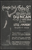 view Carnegie Hall, New York, N.Y. postcard to Mary Fanton Roberts, New York, N.Y. digital asset number 1