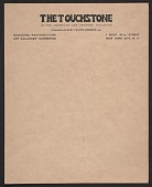 view Letterhead for <em>The Touchstone</em> digital asset number 1