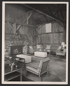 view Living room with furniture designed by T.H. Robsjohn-Gibbings digital asset number 1