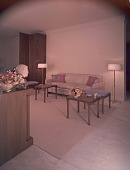 view Goulandris living room designed by T.H. Robsjohn-Gibbings digital asset number 1