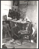 view Arturo Rodríguez in his studio digital asset number 1