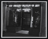 view Los Angeles Museum of Art entrance and window displays digital asset number 1