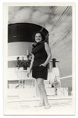 view Esther Rolick on an ocean liner digital asset number 1