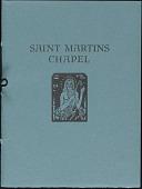 view Booklet, Saint Martin's Chapel (Reredos) digital asset: Booklet, Saint Martin's Chapel (Reredos): 1927