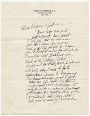 view Edward Wales Root letters from Louis Eilshemius, [ca. 1930] digital asset number 1