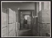 view Storage rooms inside Museum Wiesbaden filled with wooden crates digital asset number 1
