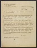 view Transcript of Hitler's orders to the Rosenberg Taskforce to seize cultural goods of value, translated from German to English digital asset number 1