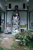 view Coca-cola bottle sculpture by Howard Finster digital asset number 1