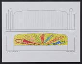 view Preparatory sketch for <em>God's Trombones I</em> digital asset number 1