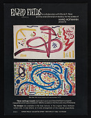 view Advertisement for wall rugs and carpets replicating Hans Hofmann original designs digital asset number 1