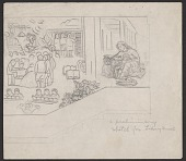 view Sketches for Santa Fe Public Library mural digital asset number 1