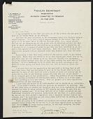 view Edward Bruce, Washington, D.C. letter to Olive Rush, Santa Fe, N.M. digital asset number 1
