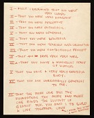 view Eero Saarinen letter to Aline B. (Aline Bernstein) Saarinen digital asset number 1