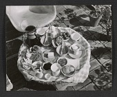 view Table setting at the Eames House digital asset number 1