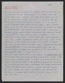 view Eero Saarinen letter to Aline Saarinen digital asset number 1