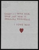view Eero Saarinen letter to Aline B. (Aline Bernstein) Saarinen digital asset number 1