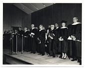 view Aline Saarinen receiving an honorary degree from the University of Michigan digital asset number 1