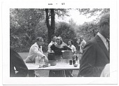 view Aline and Eero Saarinen at a picnic digital asset number 1