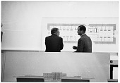 view Eero Saarinen discussing a design digital asset number 1