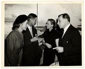 view Aline and Eero Saarinen at an exhibition opening digital asset number 1
